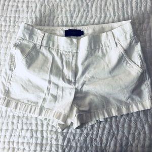 "JCrew 4"" chino shorts"